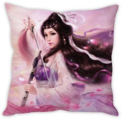 Stybuzz Japanese Girl Cushion Cover