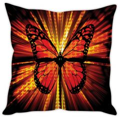 Stybuzz Illuminating Butterfly Cushion Cover