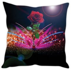 Stybuzz Red Rose Cushion Cover