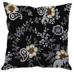 Paisley Floral Art Cushion Cover