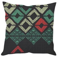 Painted Block Print Cushion Cover