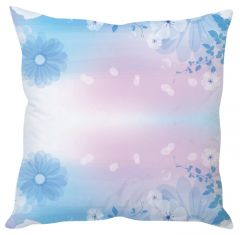 Stybuzz Snowy Petals White Cushion Cover