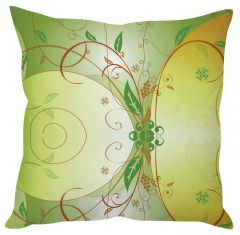 Stybuzz Green Art Green Cushion Cover