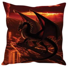 Stybuzz Fire Dragon Red Cushion Cover