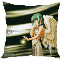 Stybuzz Sad Angel Anime Multicolor Cushion Cover