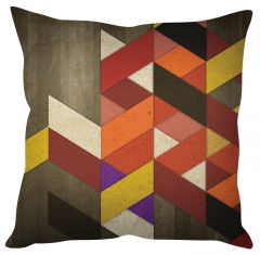 Stybuzz Abstract Art Multicolor Cushion Cover