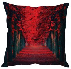 Stybuzz Autumn Tree Red Cushion Cover