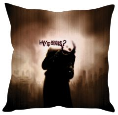 Stybuzz Joker Why So Serious Bl Cushion Cover