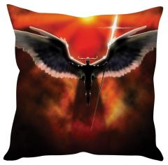 Stybuzz Angel Warrior Red Cushion Cover
