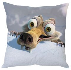 Stybuzz Ice Age White Cushion Cover