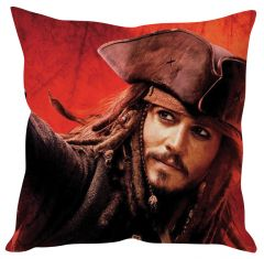 Stybuzz Jack Sparrow Red Cushion Cover