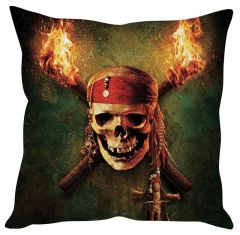Stybuzz Pirates Of Caribbean Green Cushion Cover