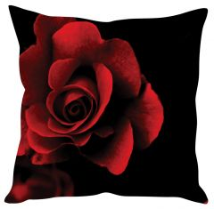 Stybuzz Red Rose Red Cushion Cover