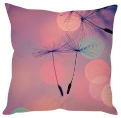Stybuzz Dandelion Art Pink Cushion Cover
