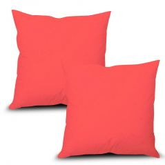 Stybuzz Pink Solid Cushion Cover - Set of 2 - (Product Code - SDPS00002)