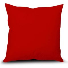 Stybuzz Red Solid Cushion Cover - (Product Code - SDRS00001)