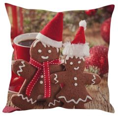 Stybuzz Santa Cookie Treat Christmas Cushion Cover