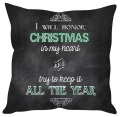 Stybuzz Christmas Quote Cushion Cover