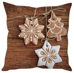 Stybuzz Christmas Cookie Treats Cushion Cover