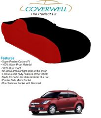 Coverwell Designer BR-01 Waterproof Custom Fit Car Body Cover For  Maruti Swift Dezire New