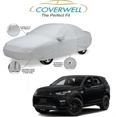 Coverwell Super Soft Custom Fit Car Body Cover For Land Rover Discovery Sport