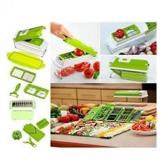 Genius Multi Chopper Plus Multi Vegetable & Fruit Cutter - Home & Kitchen