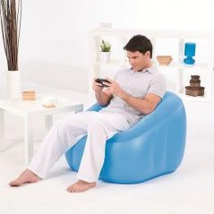 Comfort Quest Air Chair Beanless Bag With Free Pump