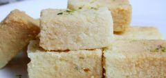 Indian Sky Shop''s Coconut Barfi Sweet Gift 700 grams
