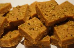 Indian Sky Shop's Delicious Besan Barfi Sweet. 500 gm