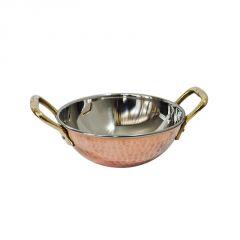 Utensils - Fabulloso Copper Kadhai Small