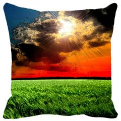 Leaf Designs Sunset On The Fields Cushion Cover - Code  53863142091
