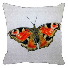 Leaf Designs Red And Black Butterfly Cushion Cover - Code  53864252091