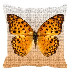Leaf Designs Shaded Butterfly Cushion Cover - Code  53864342091