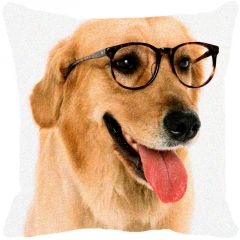 Leaf Designs Spectacles Dog Cushion Cover - Code  53863932091