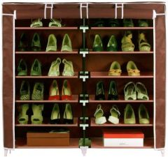 Folding Shoe Rack 6 Layers Double