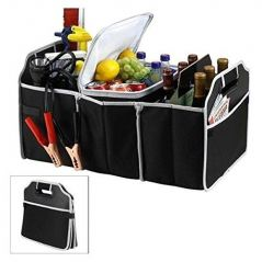 Insulated Leak Proof Collapsible Car Boot Trunk Organiser & Cooler