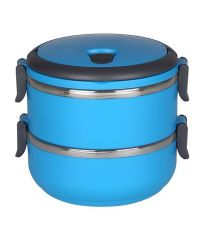 Cosmosgalaxy Lunch Box 2 Layer - Blue