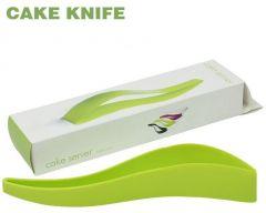 HomeBasics Plastic Kitchen Ergonomic Design Cake Pastry Server Cutter 1   1 Free
