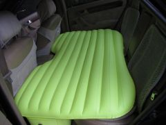 Xelectron Car Inflatable Bed With Electric Pump & Pillow (green)