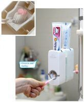Gift Or Buy Touch Me Automatic Toothpaste Dispenser Toothpaste Tooth Brush Holder Touch