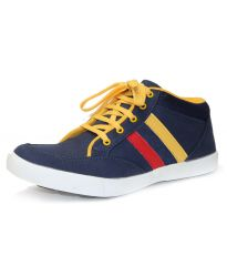 Shop or Gift Guava Men Casual Denim Shoe (Blue) Online.