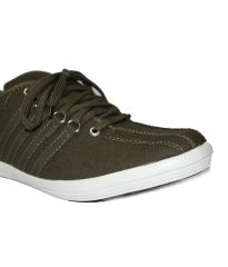 Guava Men Casual Sneakers - Olive - GV15JA098