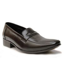 Guava Leather Formal Shoe - Black - GV15JA156