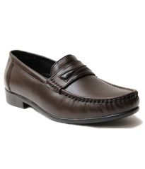 Guava Leather Formal Shoe - Brown - GV15JA158