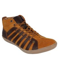 Guava Leather Ankle Casual Shoes for Men - Product Code (GV15JA210)