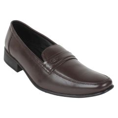Guava Leather Formal Shoe - Brown - GV15JA274