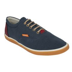 "Guava Men""s Classic Canvas Sneakers - Blue - (Product Code - GV15JA351)"
