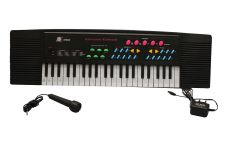 Musical Piano Keyboard 37 Keys With Mic Electronic Organ