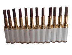 Set Of 12 Tlm Gci Bright Moist Lipstick