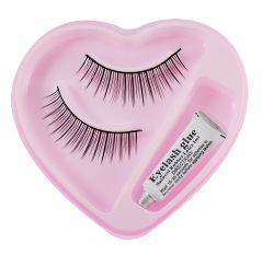 Bonjour False Eyelash With Rubber Band-Gum-(Code - BONJ-GCO-53J-029-Elsh-LT32-FL)